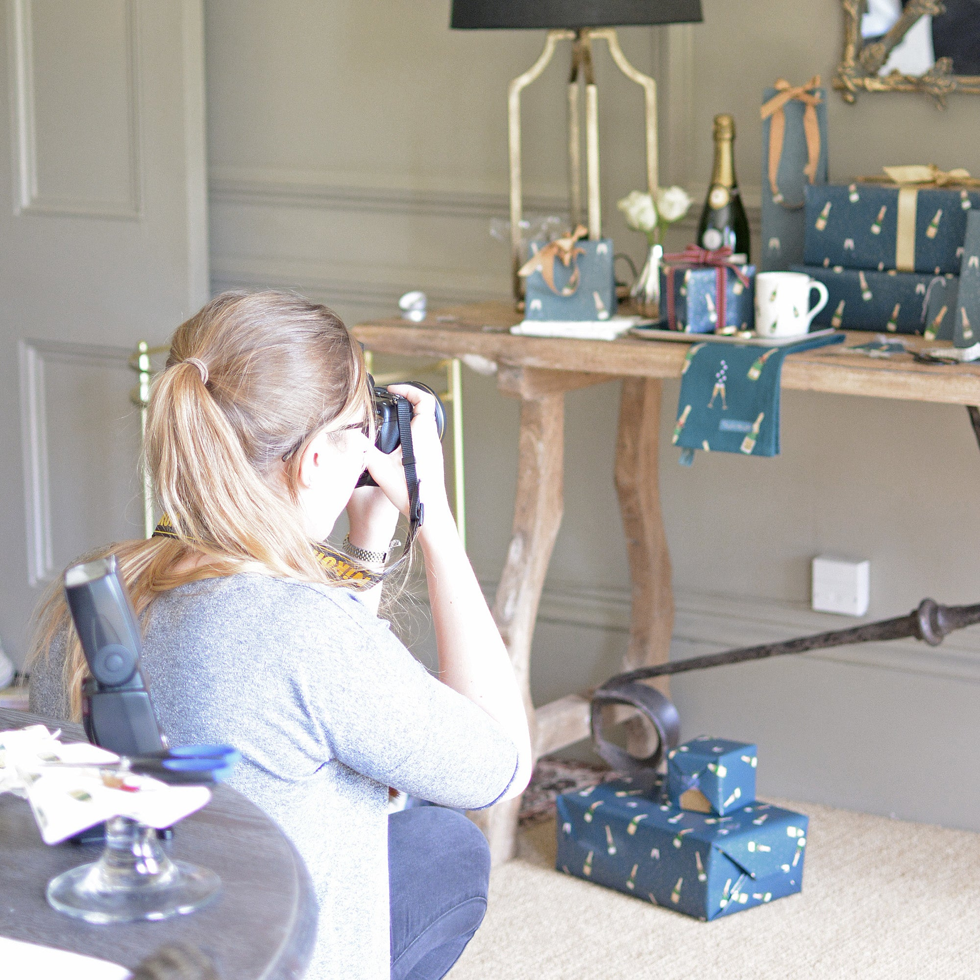 Behind The Scenes Of Our Bubbles & Fizz Photoshoot