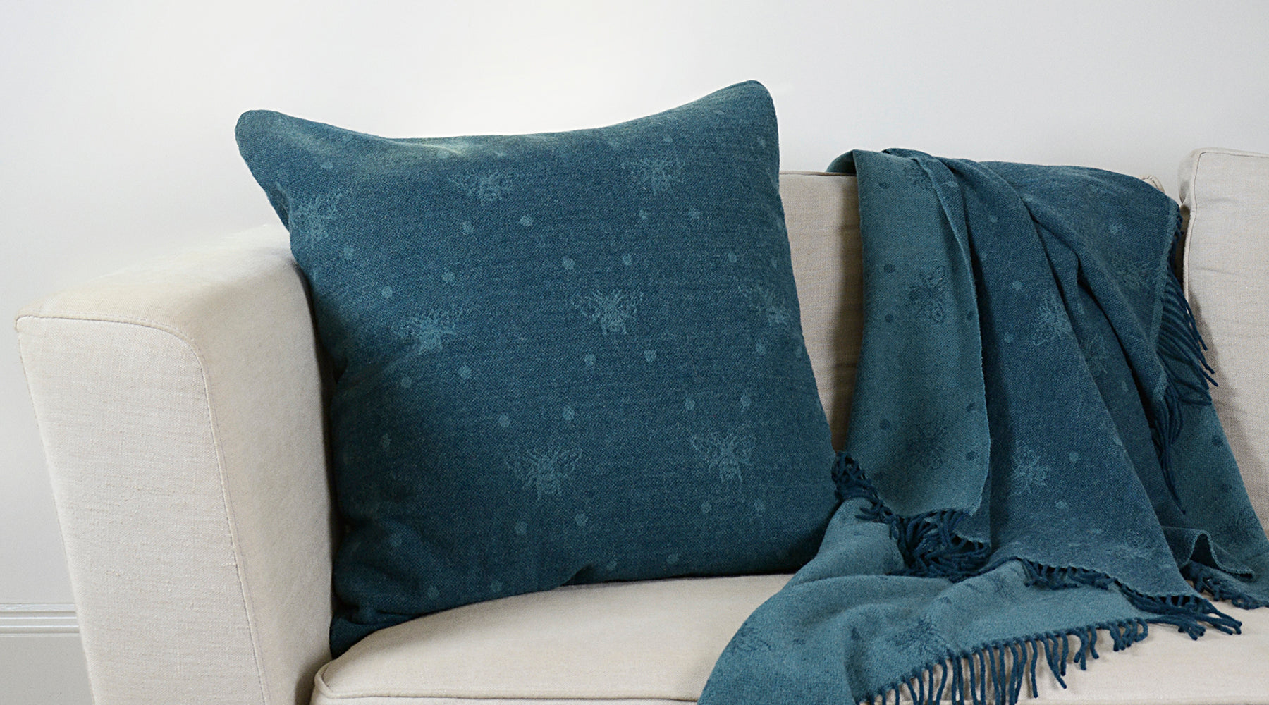 Cushions & Throws by Sophie Allport