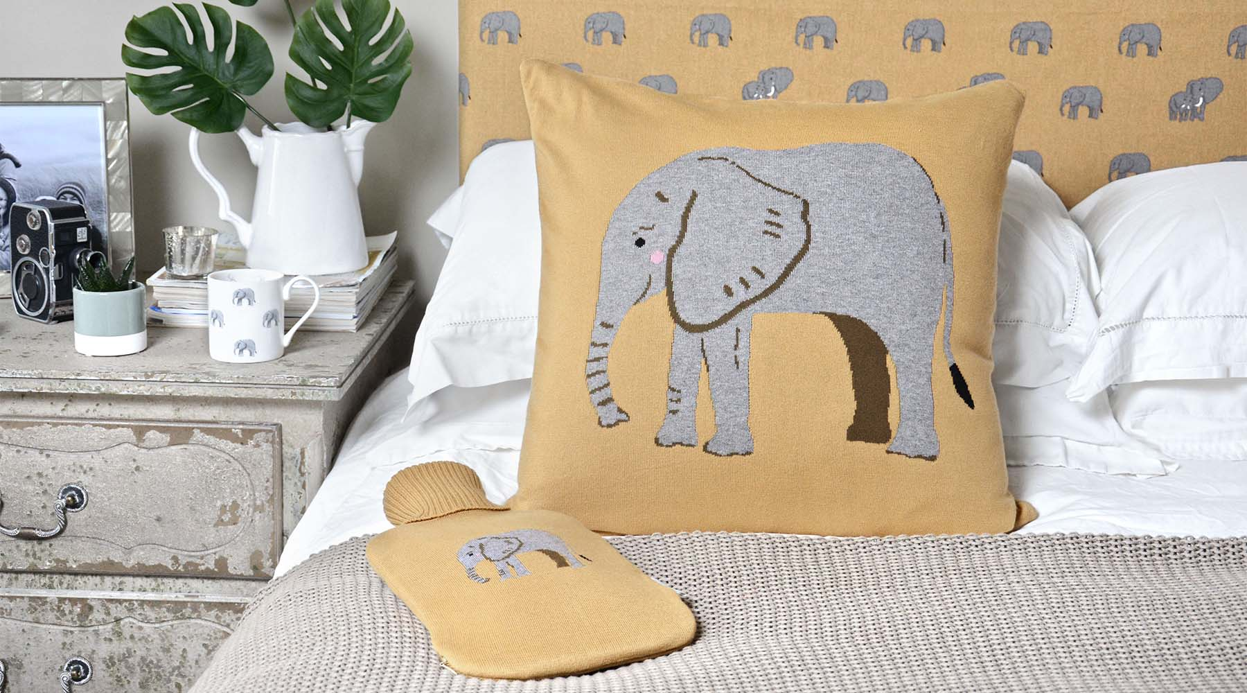 Elephant homeware collection from Sophie Allport