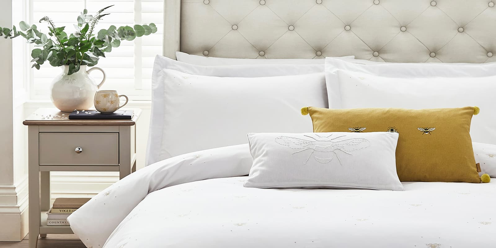Countryside inspired bedding designs from Sophie Allport
