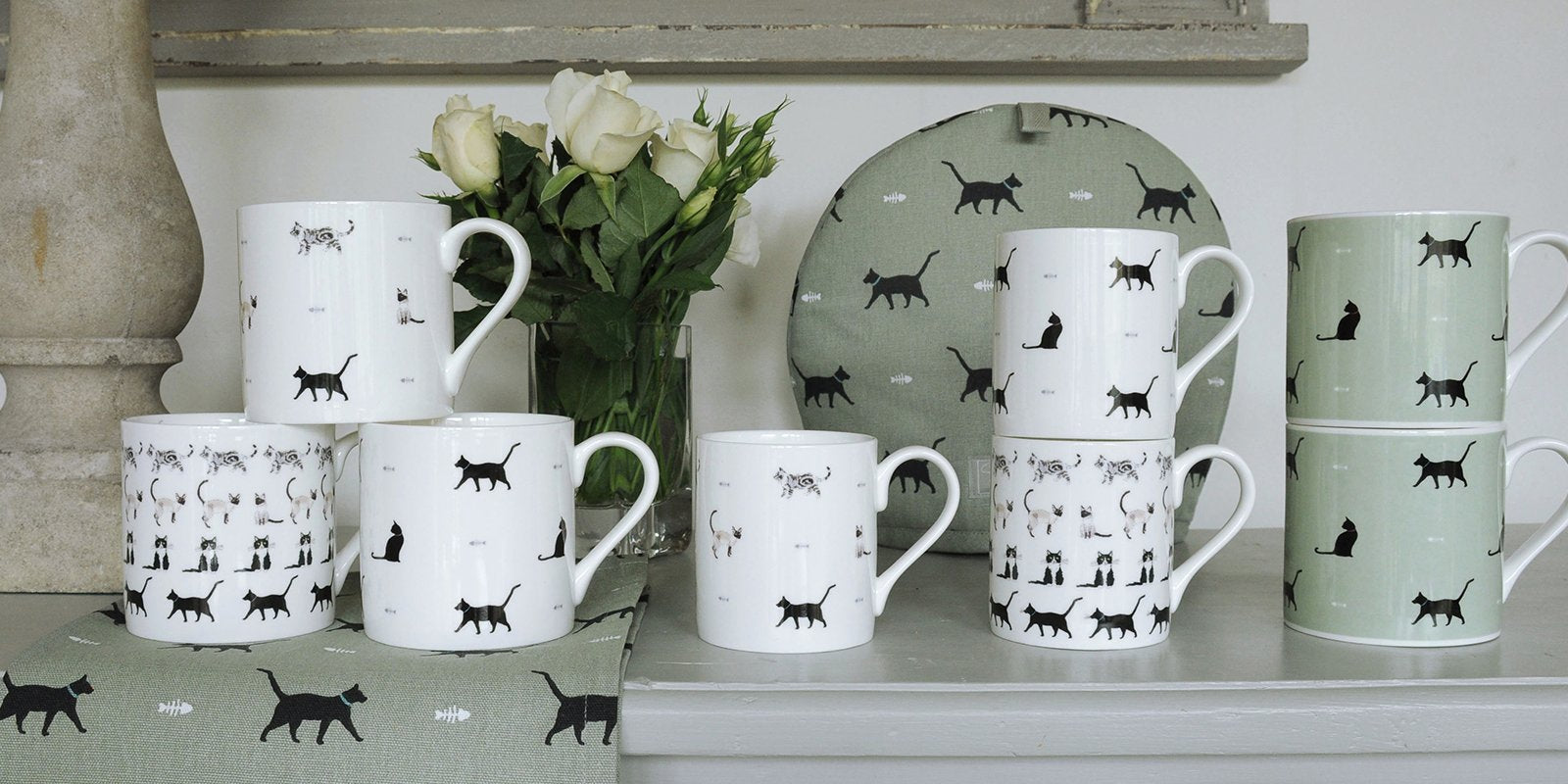 Cat gifts and Cat homewares from Sophie Allport