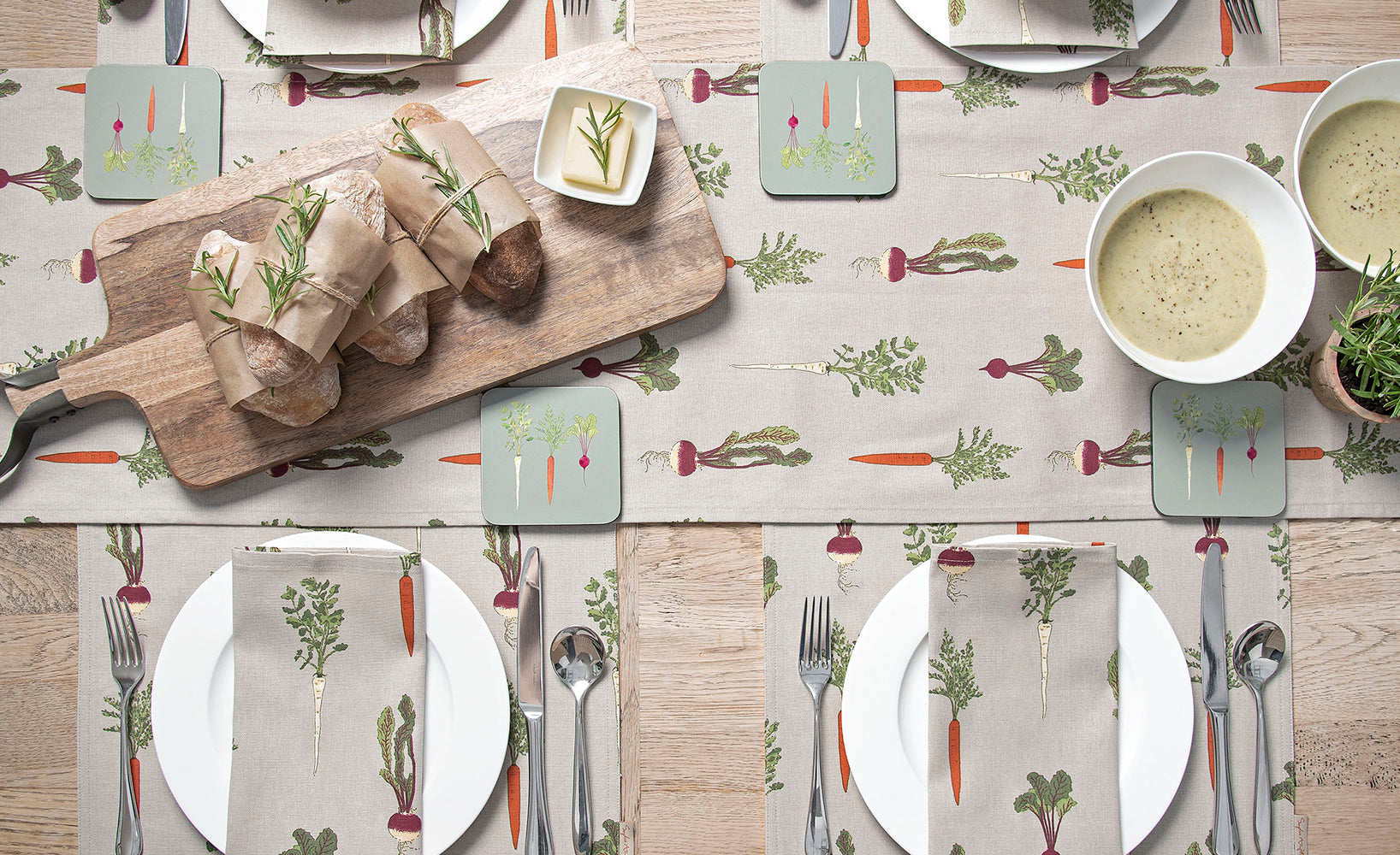 Fabric Placemats & Coasters by Sophie Allport
