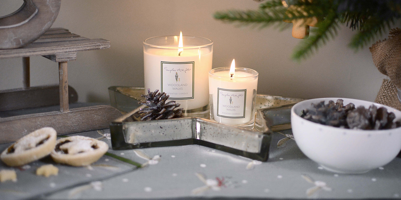Christmas candles & fragrance by Sophie Allport