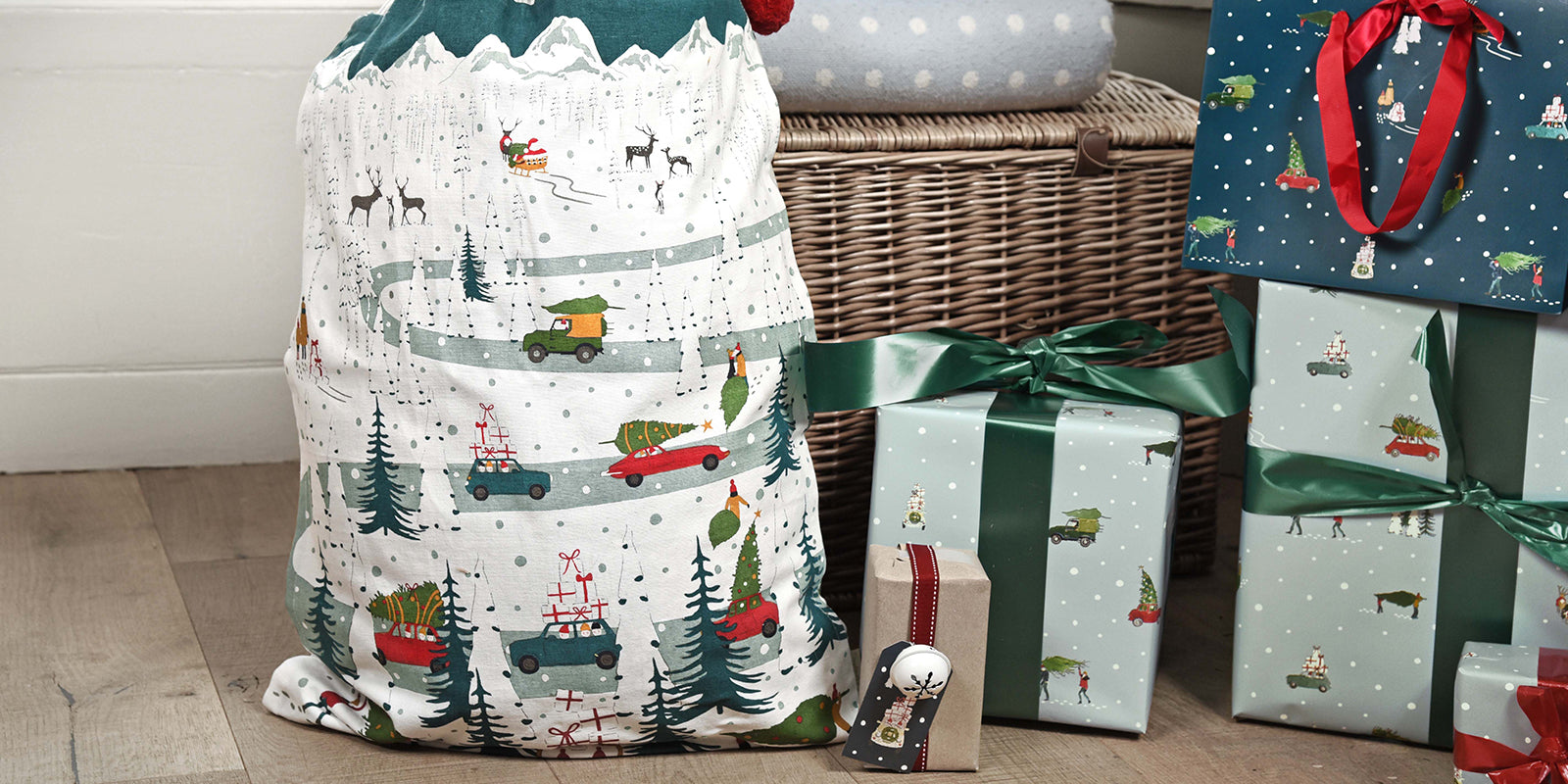Christmas Stockings and Sacks by Sophie Allport