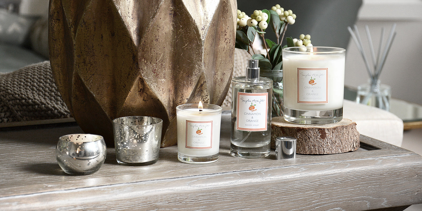 Cinnamon & Orange Home Scent by Sophie Allport