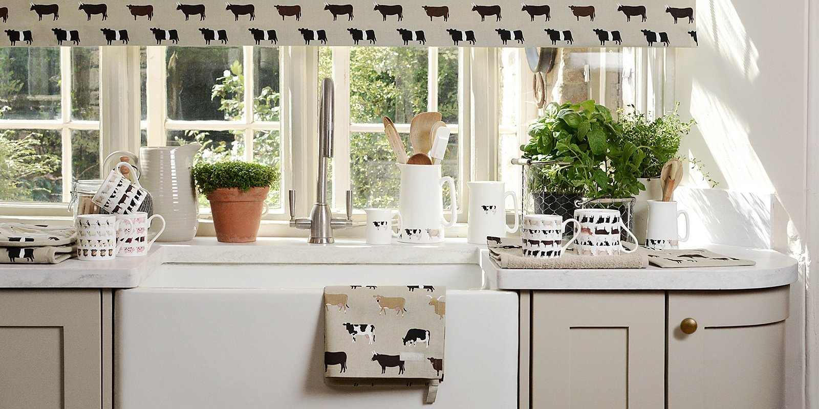 Cows print homewares & accessories by Sophie Allport
