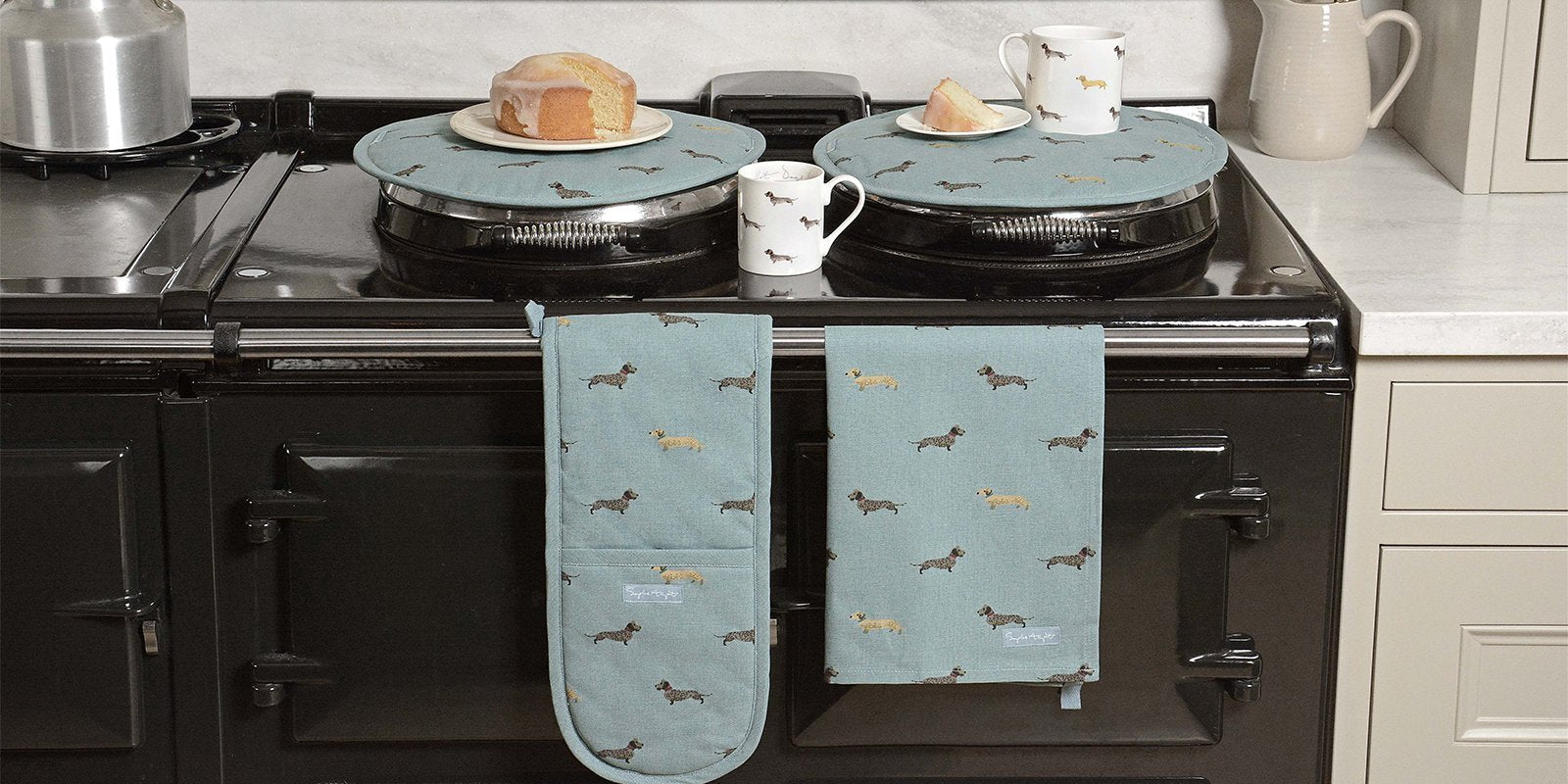 Gift and homeware ideas for Dachshund lovers by Sophie Allport