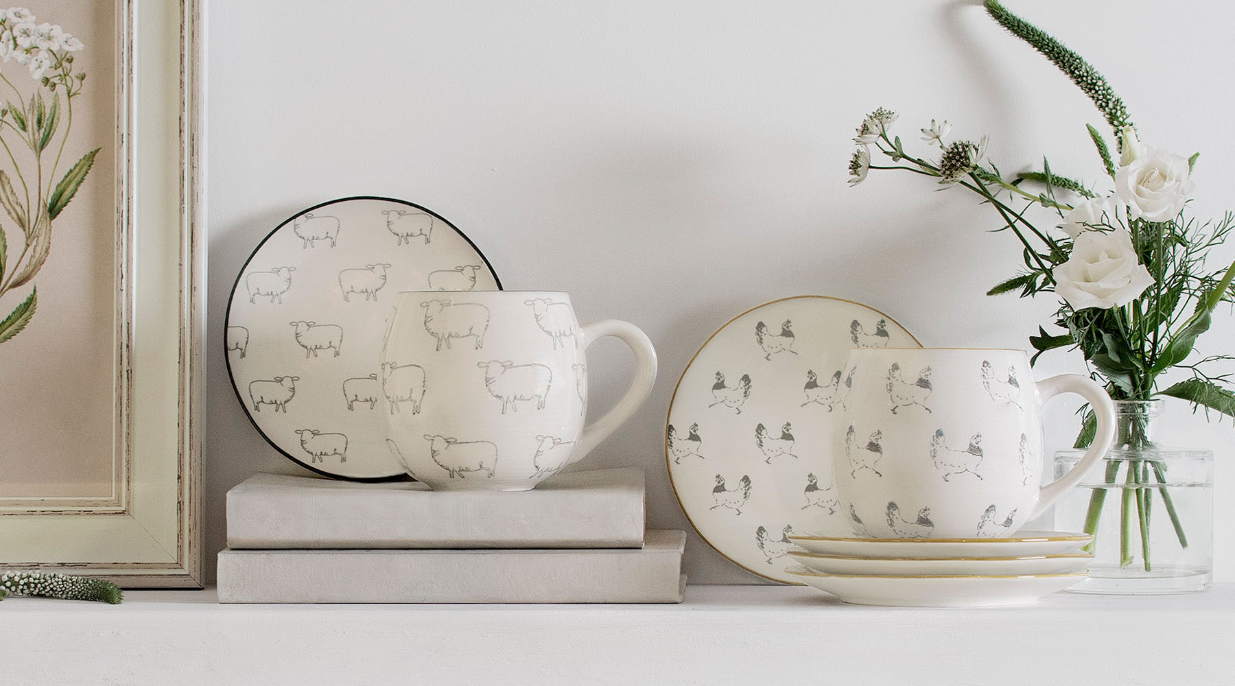 Easter Mugs by Sophie Allport