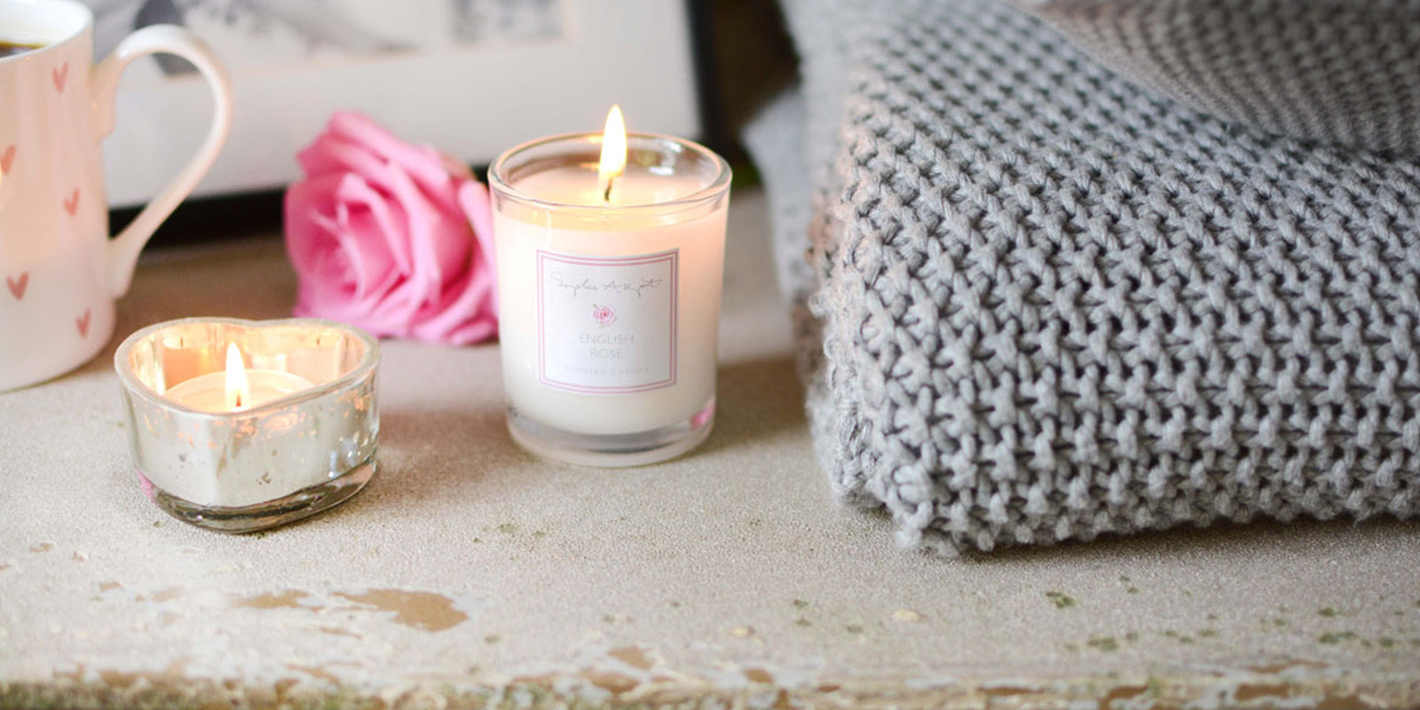 English Rose Home Scent by Sophie Allport