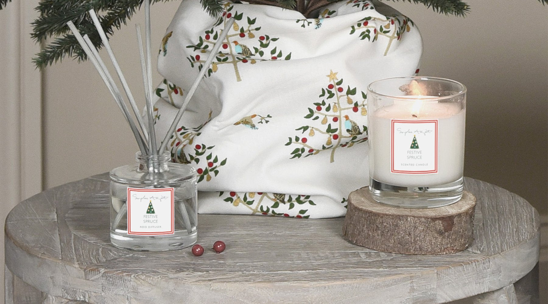 Festive Spruce by Sophie Allport