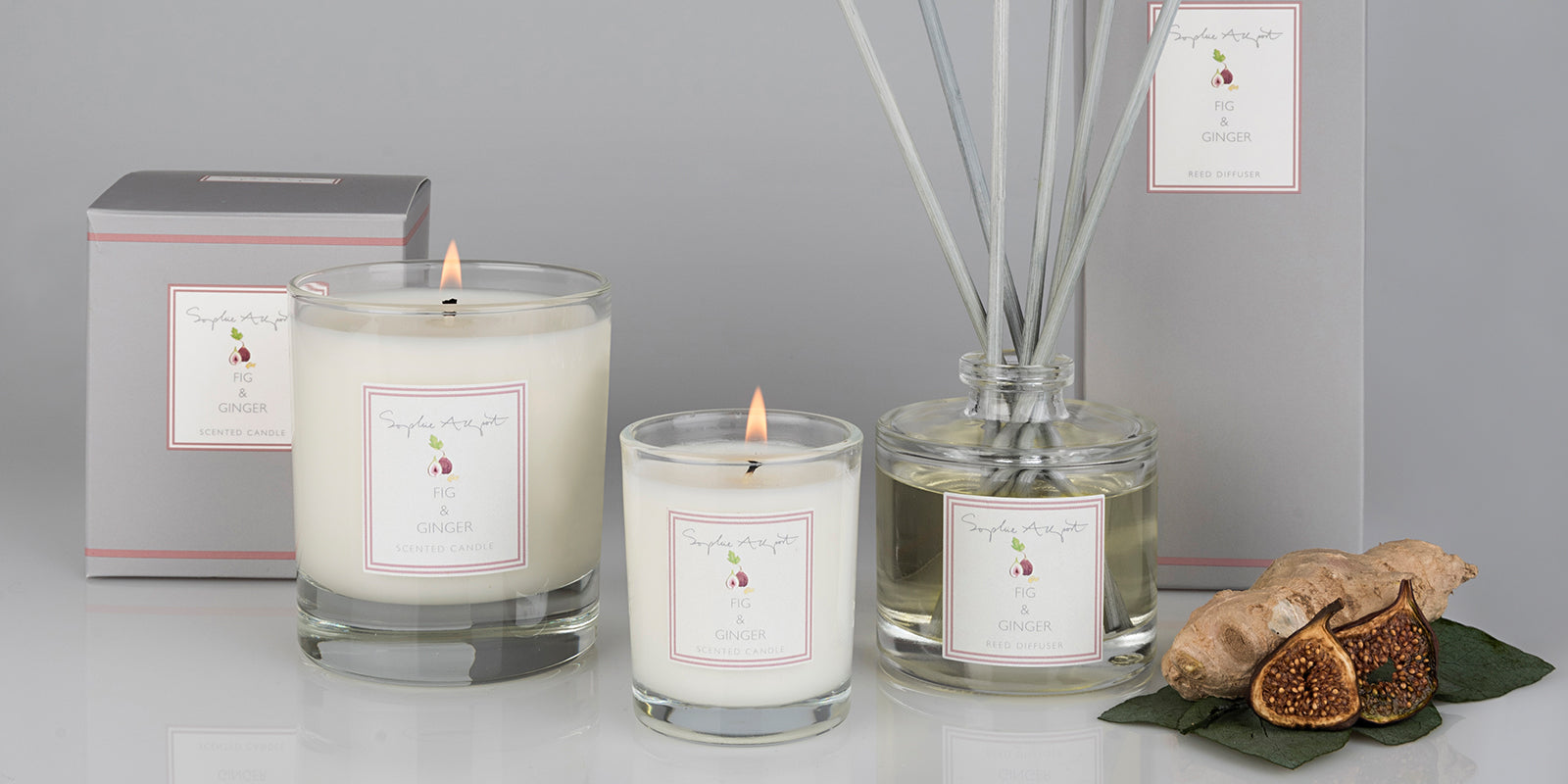 Fig & Ginger Home Scent by Sophie Allport