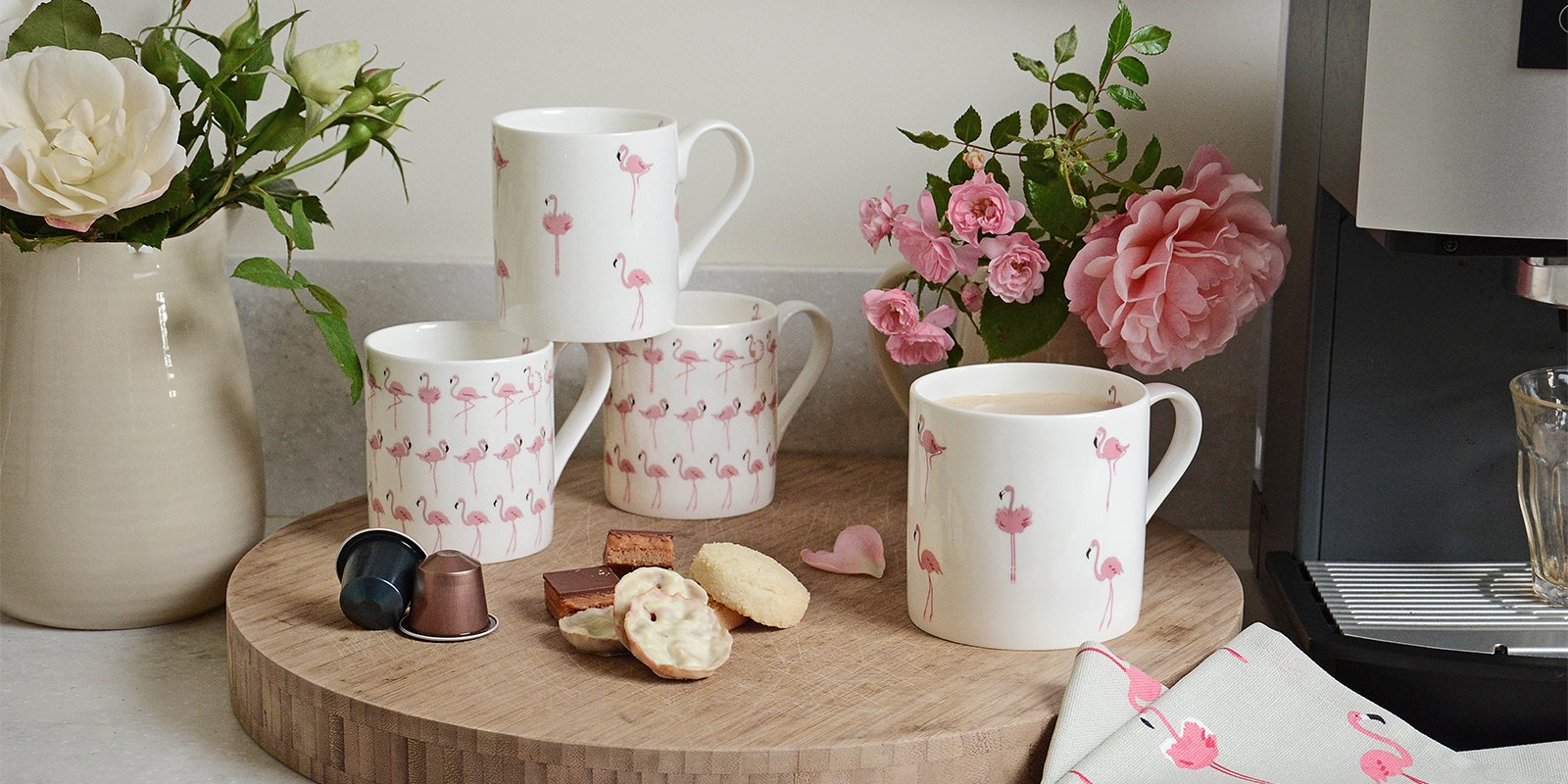 Flamingo gifts, Flamingo homewares and Flamingo accessories.