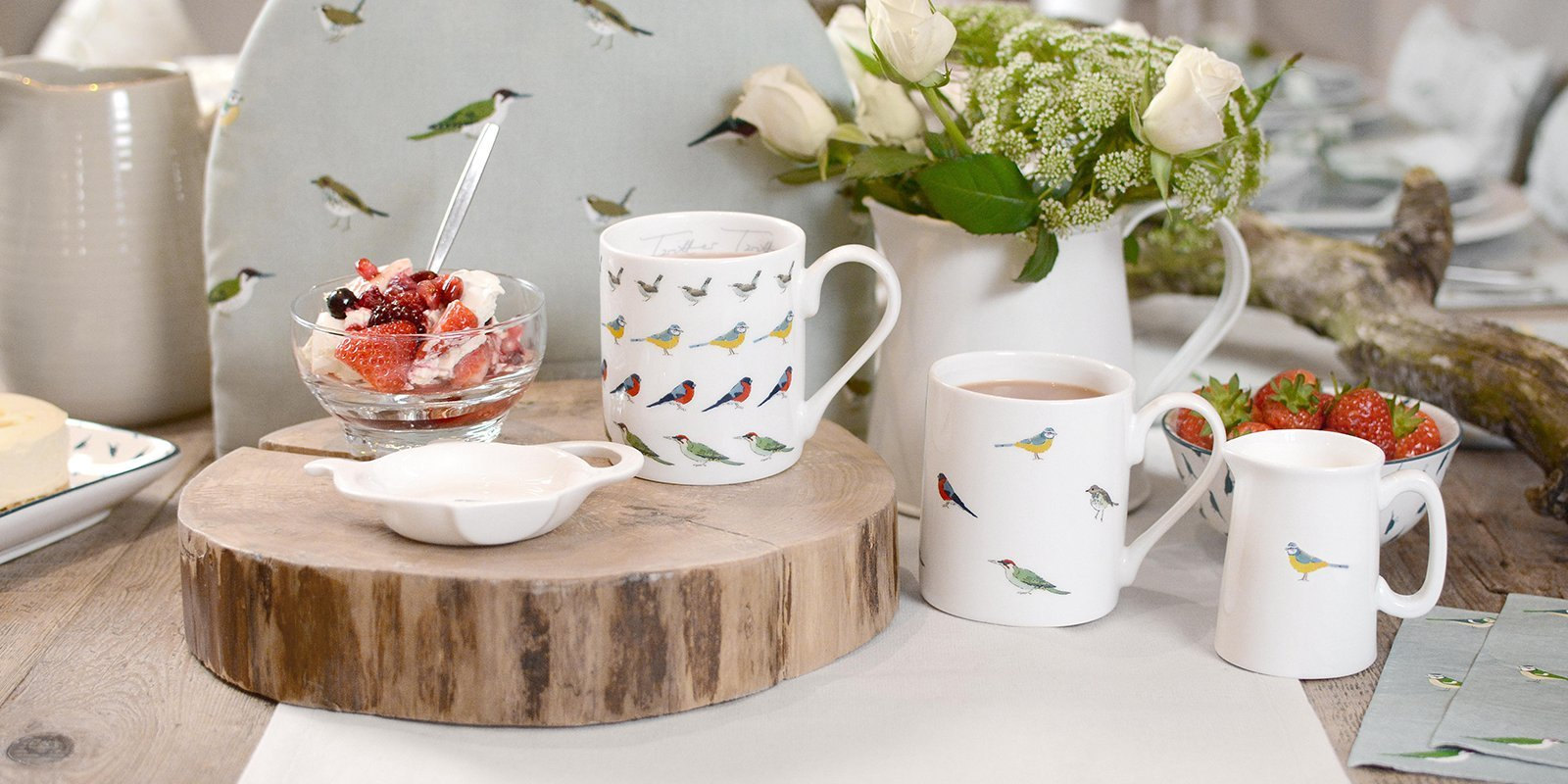 Garden Birds Homewares by Sophie Allport