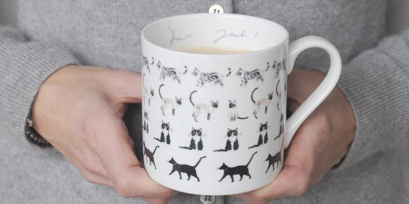Gift ideas for cat lovers by Sophie Allport