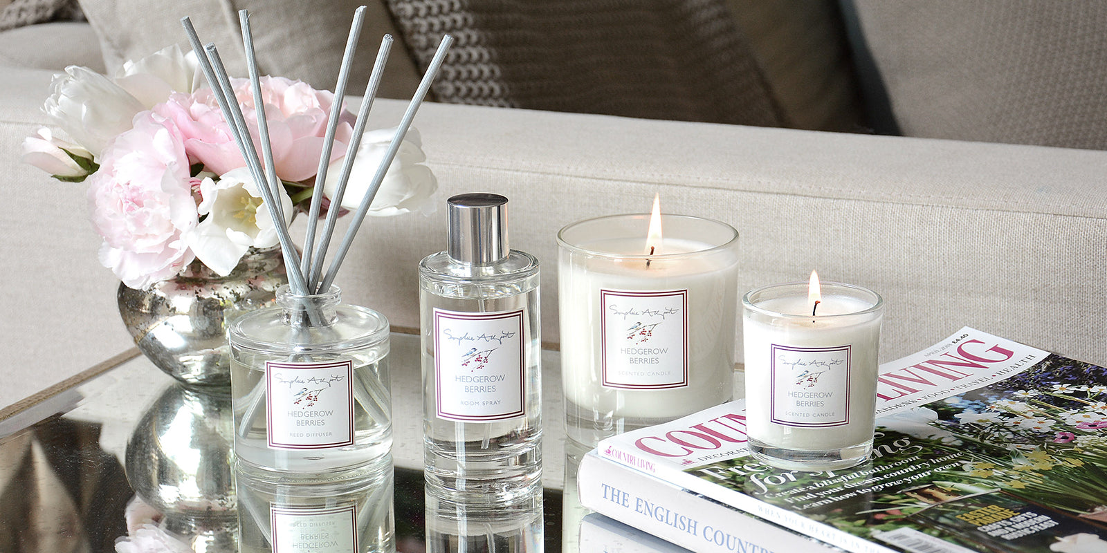 Hedgerow Berries Home Scent by Sophie Allport