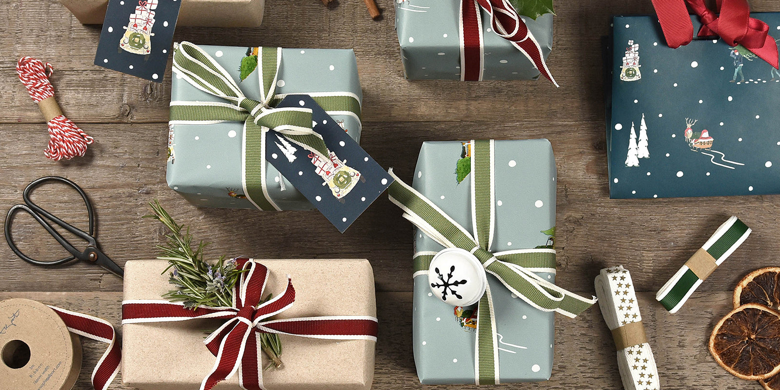 Christmas Gift Wrapping by Sophie Allport