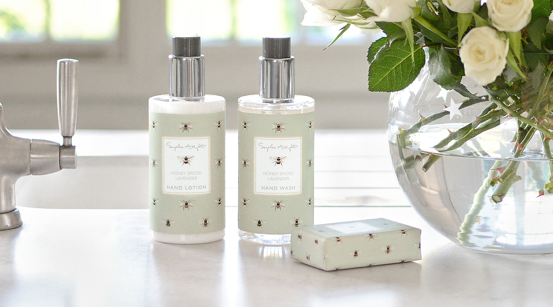 Honey Spiced Lavender Home Scent by Sophie Allport