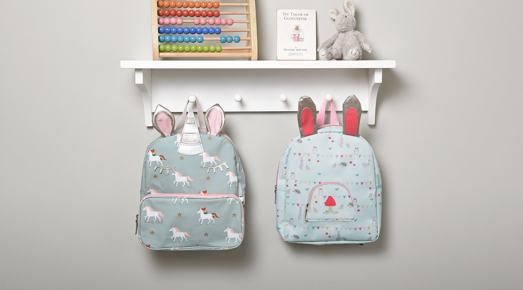 Kids backpacks by Sophie Allport