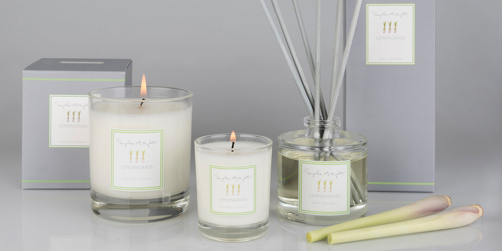 Lemongrass Home Scent by Sophie Allport