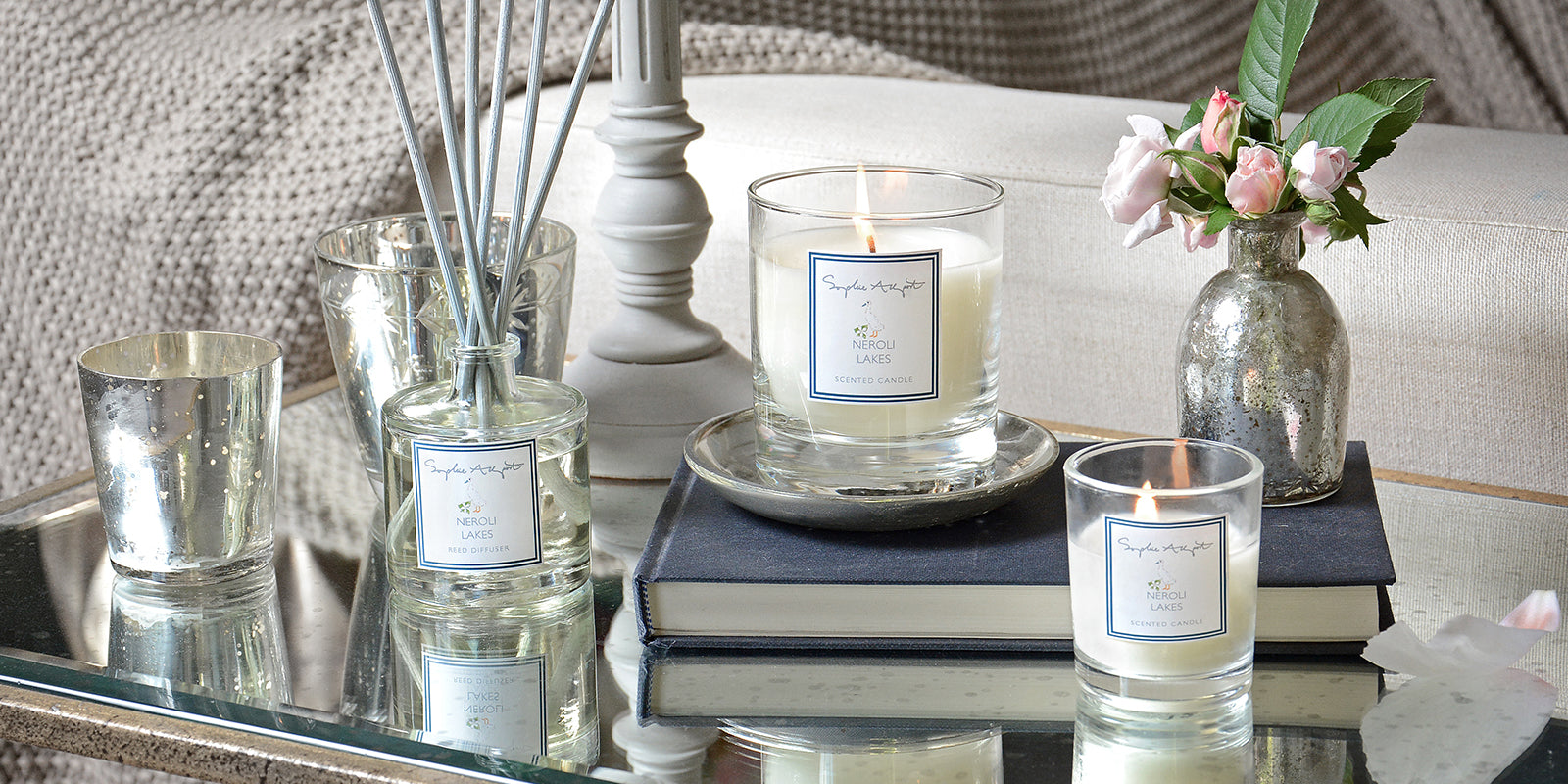 Neroli Lakes Home Scent by Sophie Allport