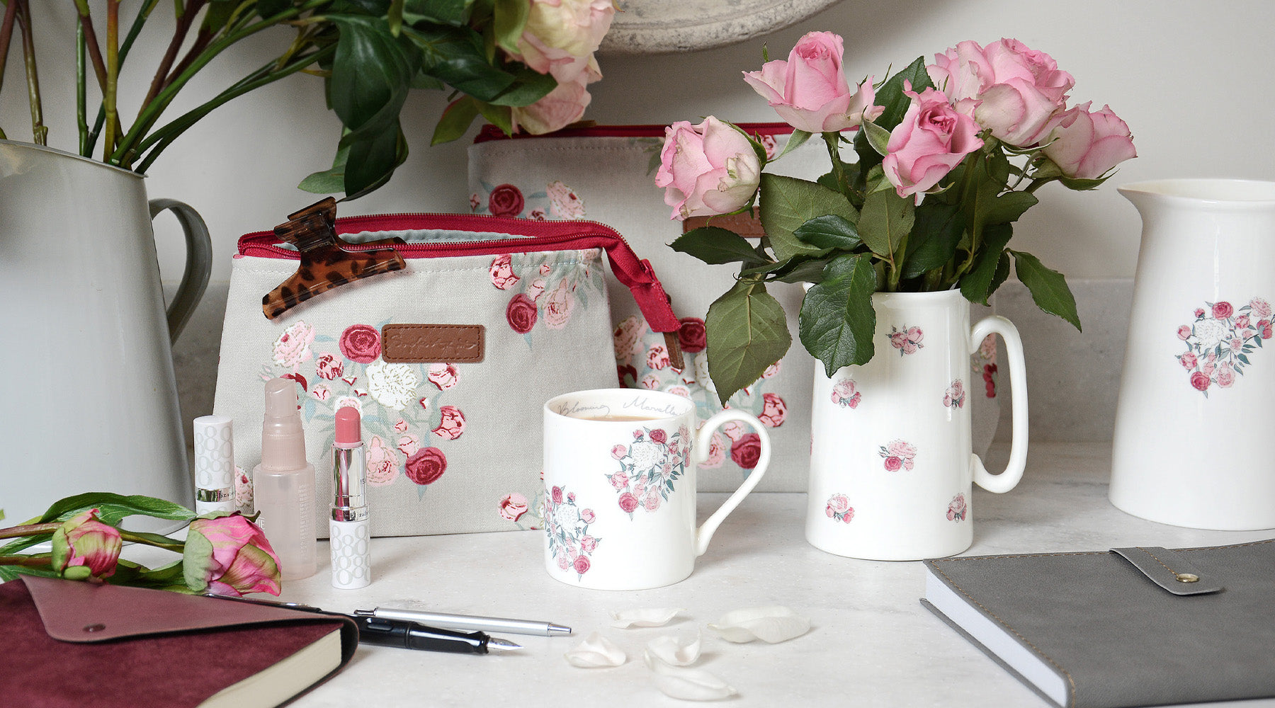 Peony homewares collection from Sophie Allport