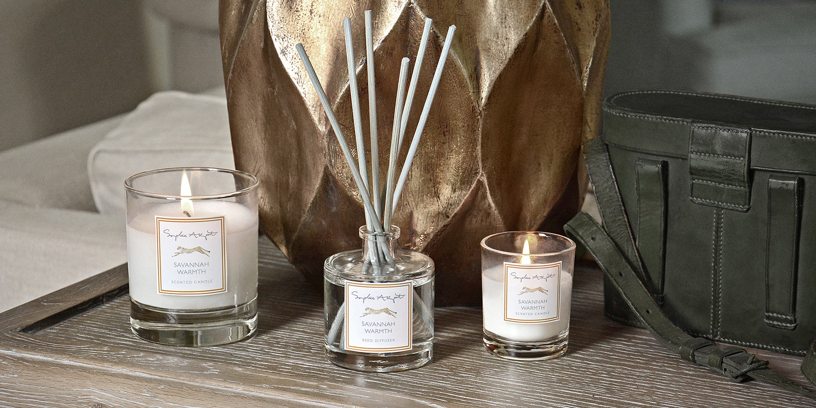 Savannah Warmth Home Scent by Sophie Allport