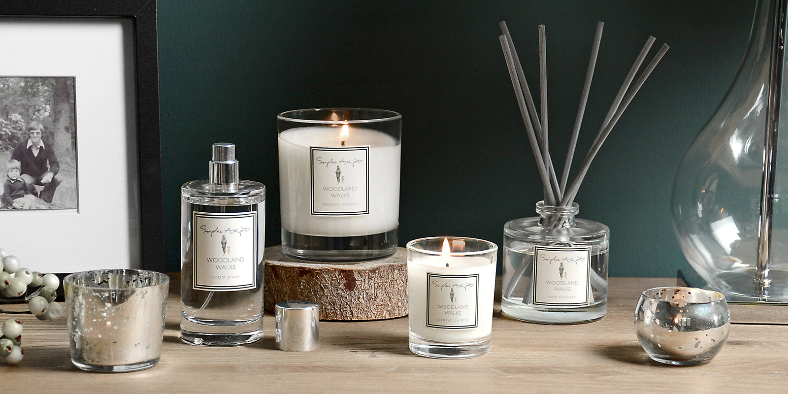 Woodland Walks Home Scent by Sophie Allport