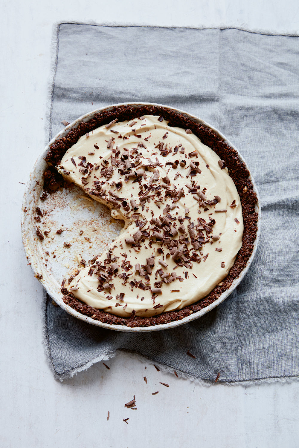 Butterscotch banoffee pie recipe