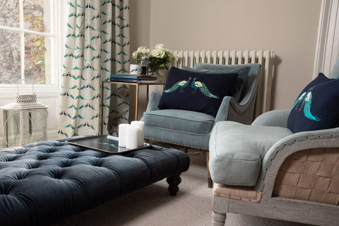 making a cosy room by Sophie Allport