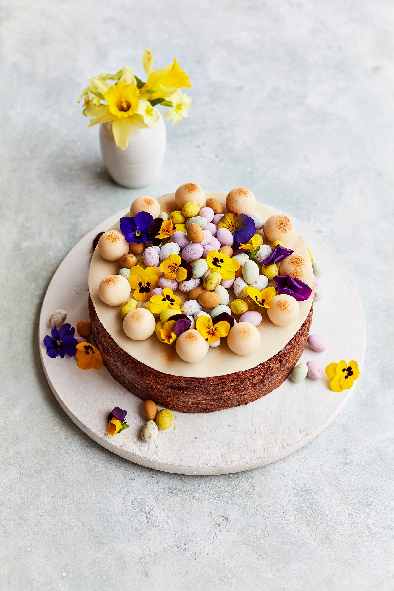 Earl Grey and Ginger Simnel Cake Recipe - Spring and Easter cake recipe