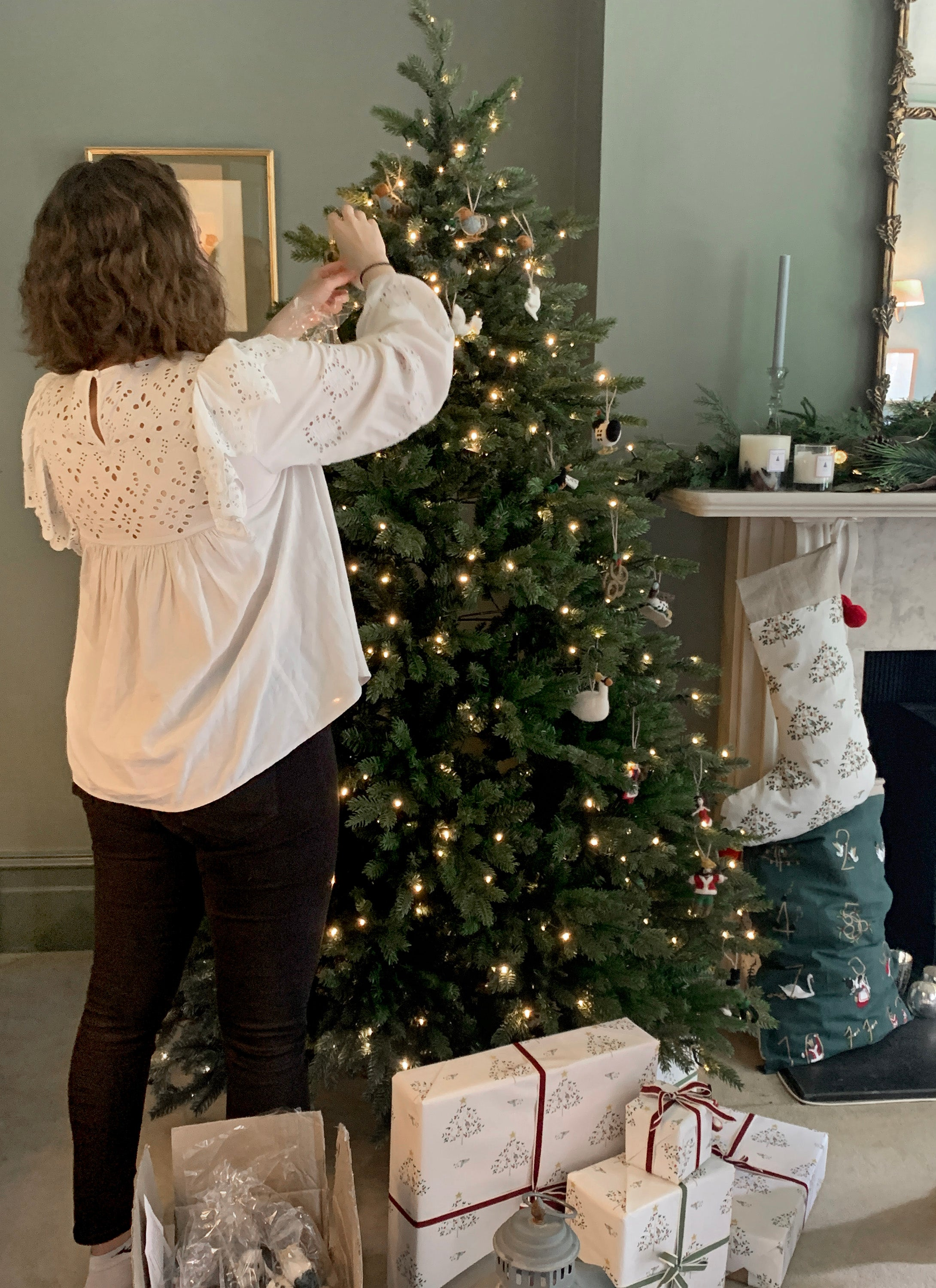 Photoshoot new Christmas collection by Sophie Allport