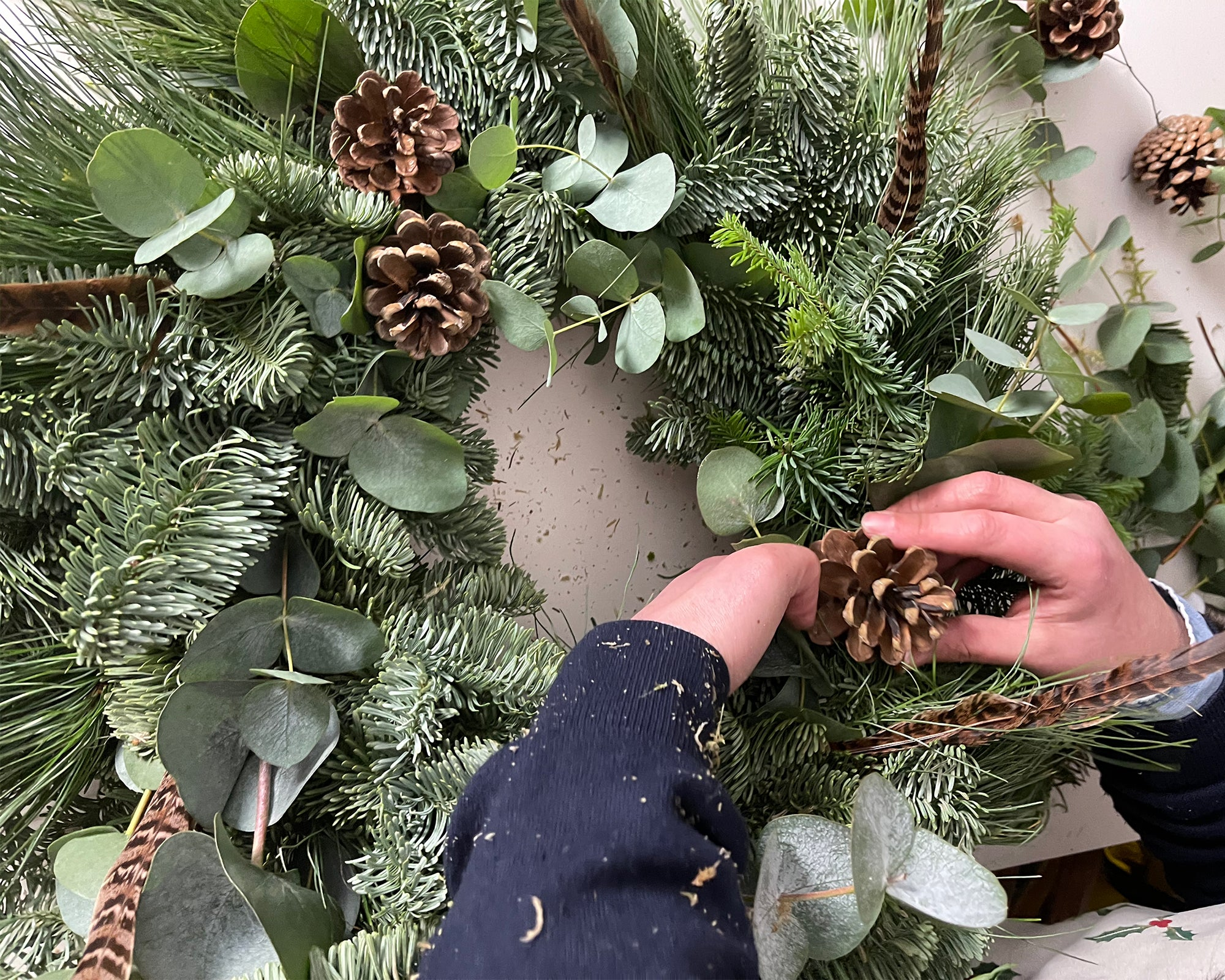 How To Make A Christmas Wreath by Sophie Allport