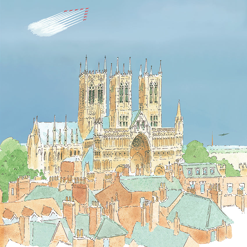 New Lincoln Cathedral Range by Sophie Allport