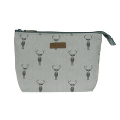 Highland Stag wash bag