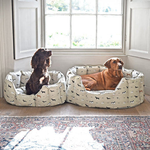 Sleep better - dogs in their own Sophie Allport bed