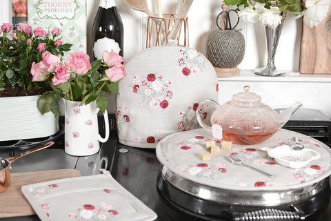 Spring Decorating Ideas - Floral Peony Design by Sophie Allport