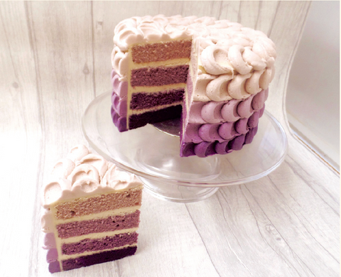 Baking trends - Ombre cake
