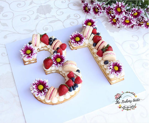 Baking trends - number cake