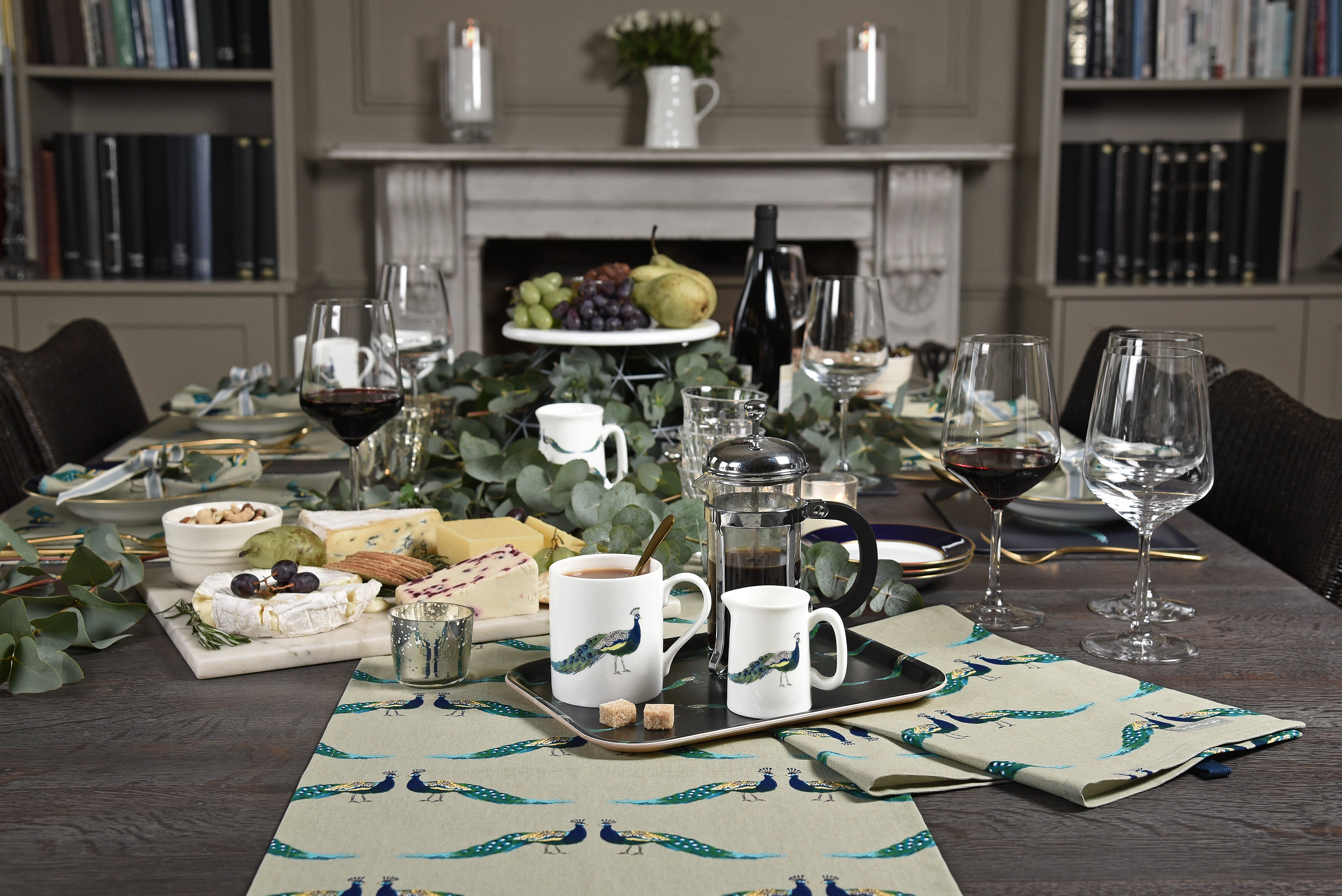 Sophie Allport peacock collection