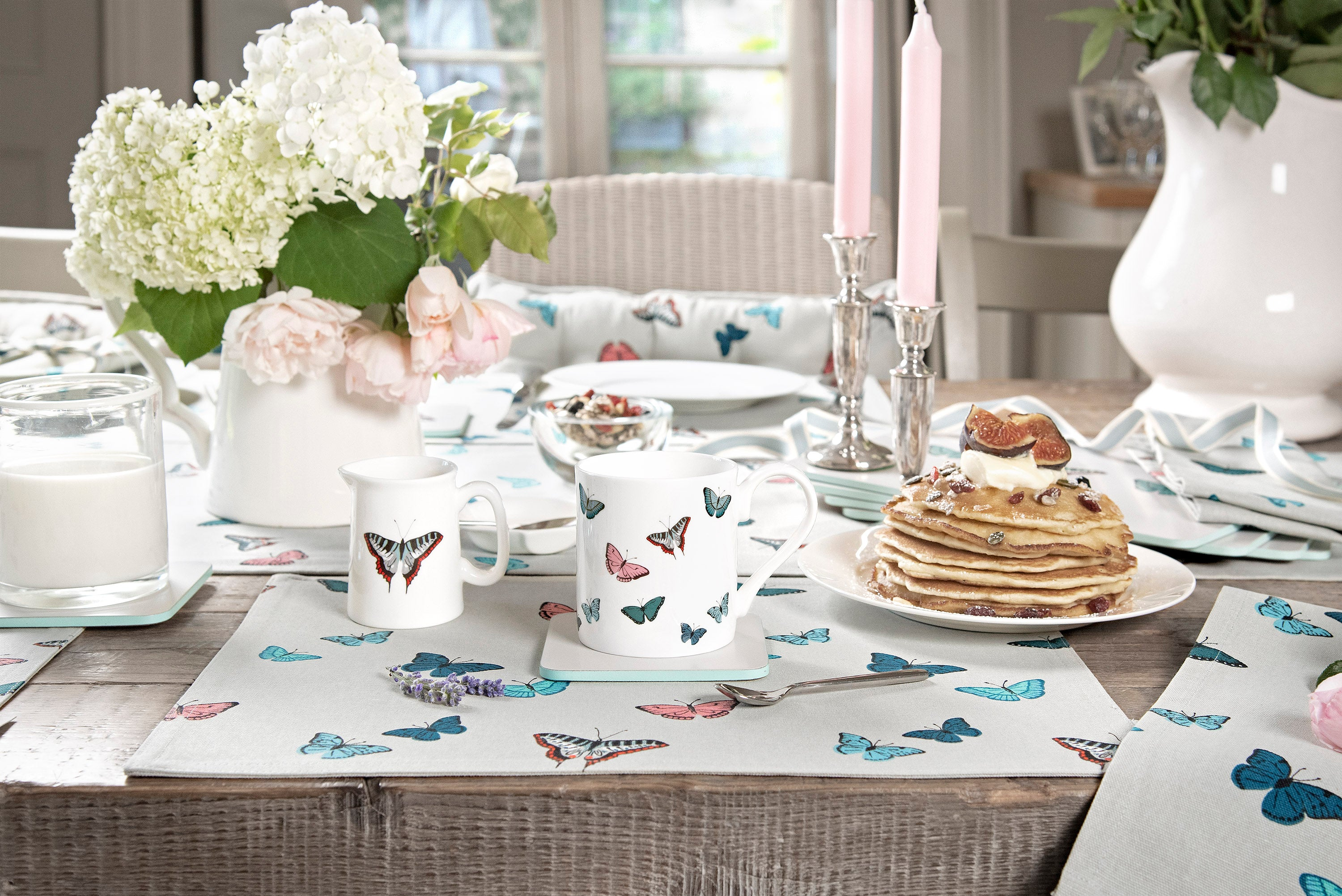 Butterflies Table Setting