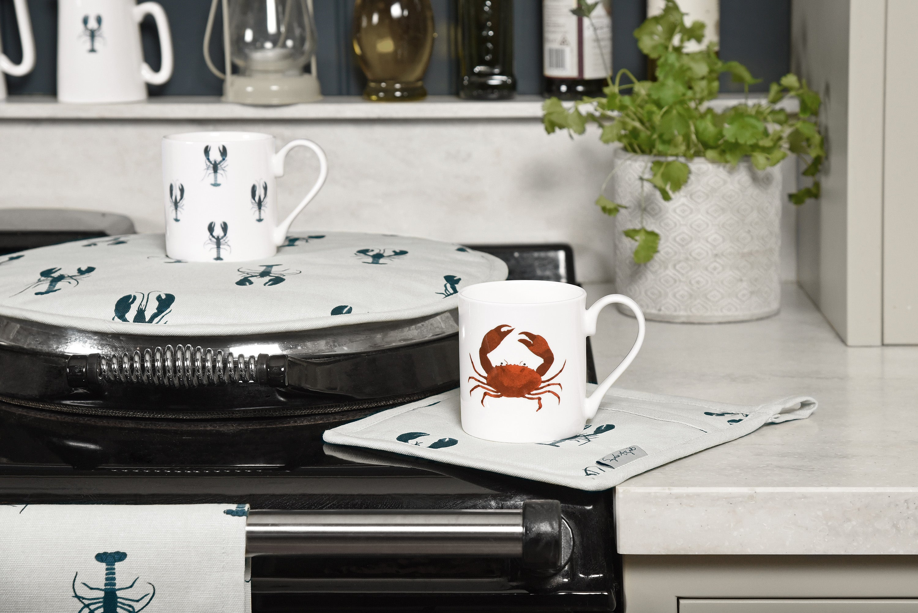 Lobster and Crab Homewares by Sophie Allport