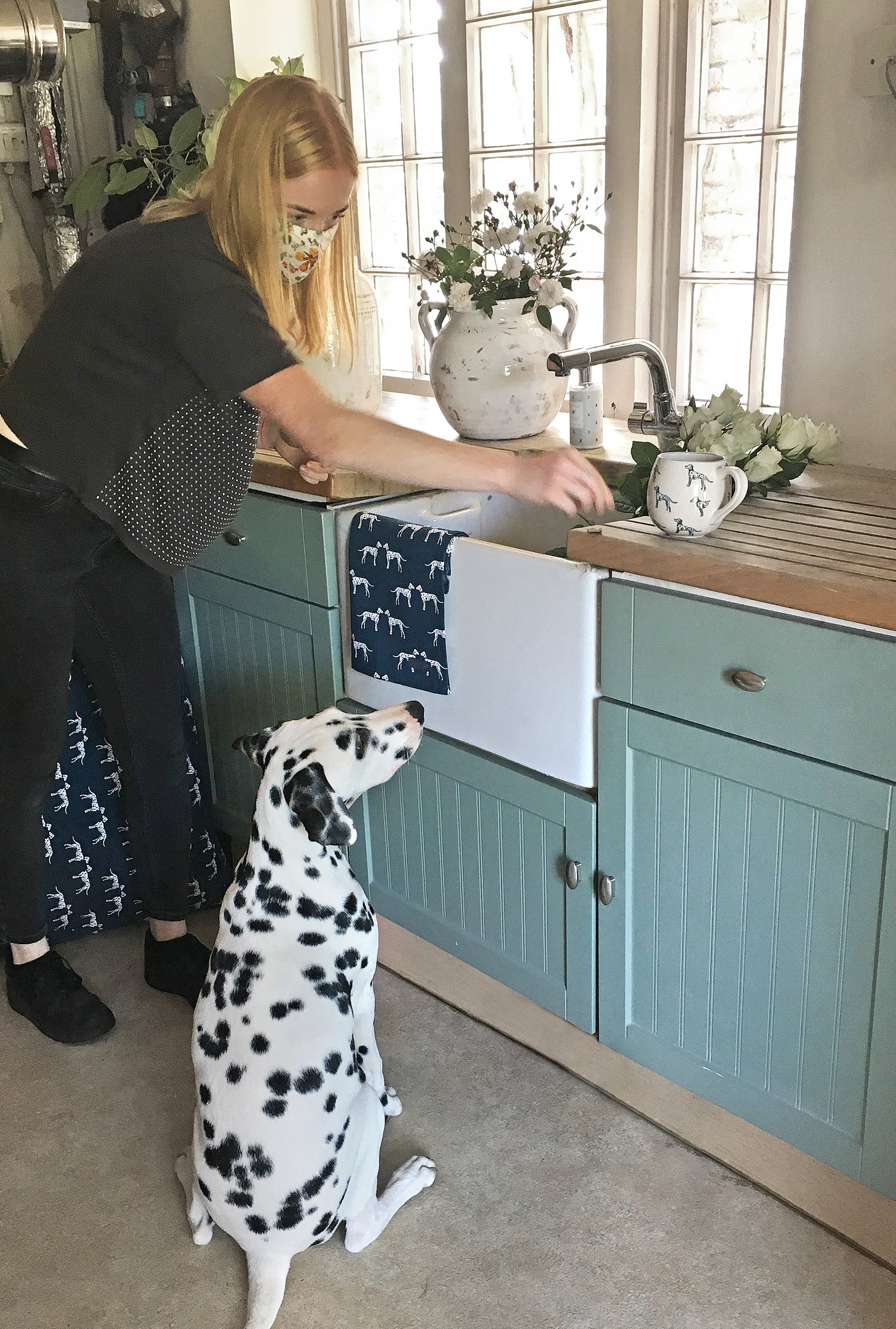 Read all about Sophie Allport's Dalmatian Photoshoot