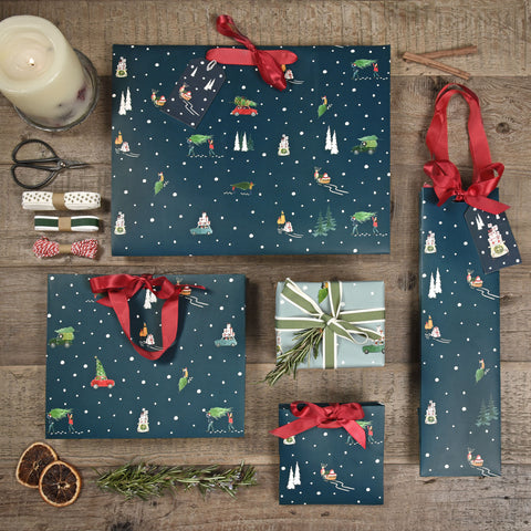 Home for Christmas Gift wrap by Sophie Allport