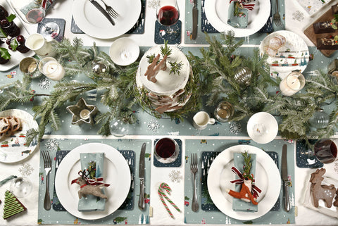 Sophie Allport Christmas table setting