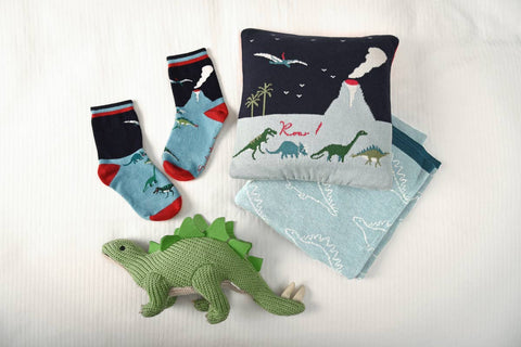 Dinosaurs Kid's Socks by Sophie Allport