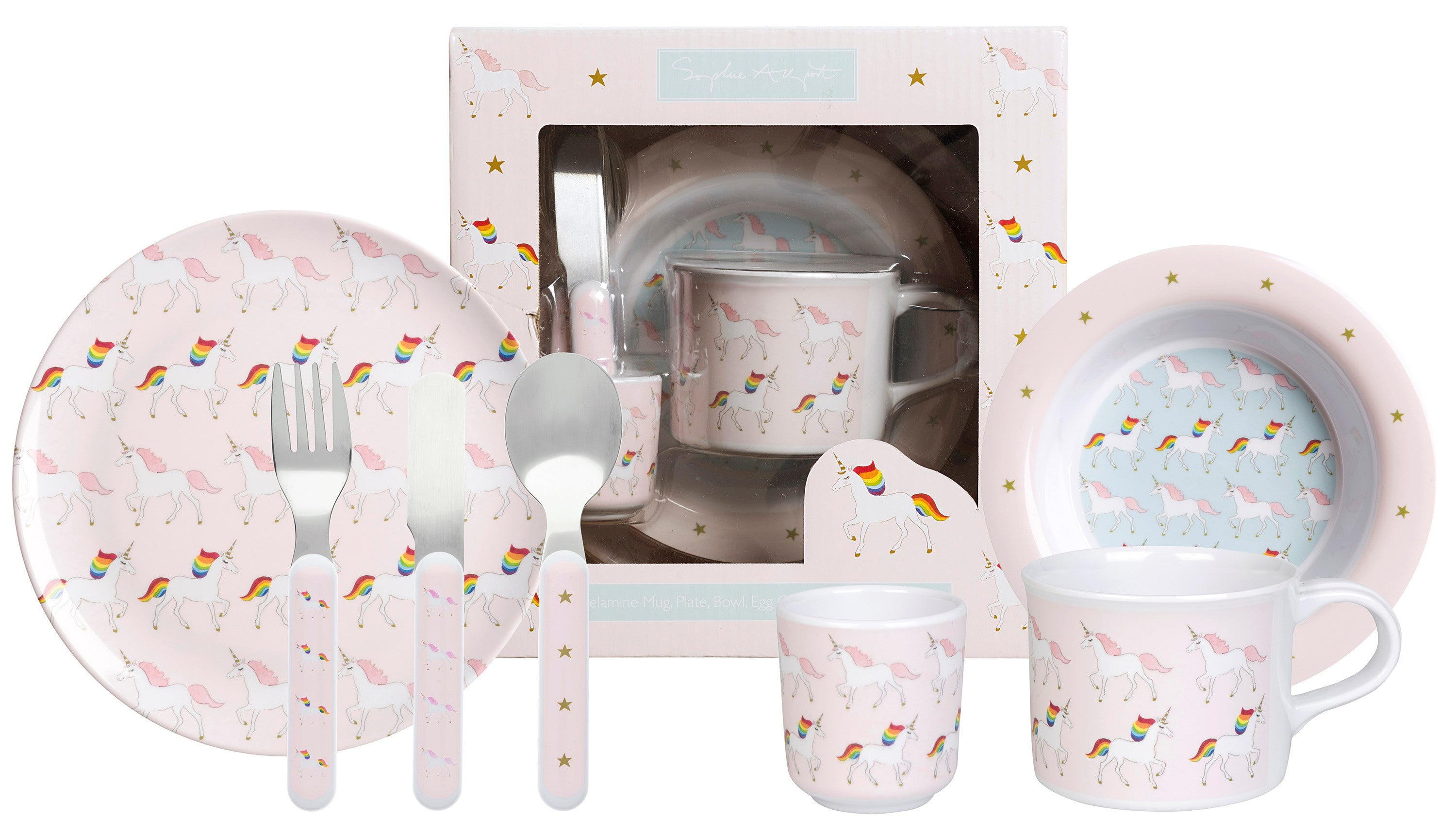Unicorn tableware for kids
