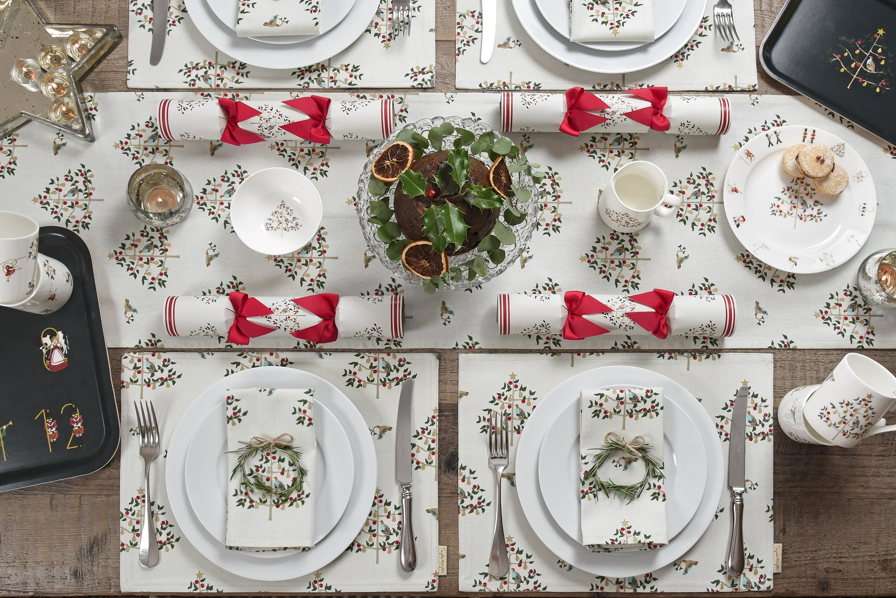 New Sophie Allport Christmas Collection - Partridge In A Pear Tree