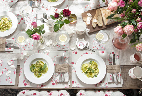 BBQ tips - table setting for summer