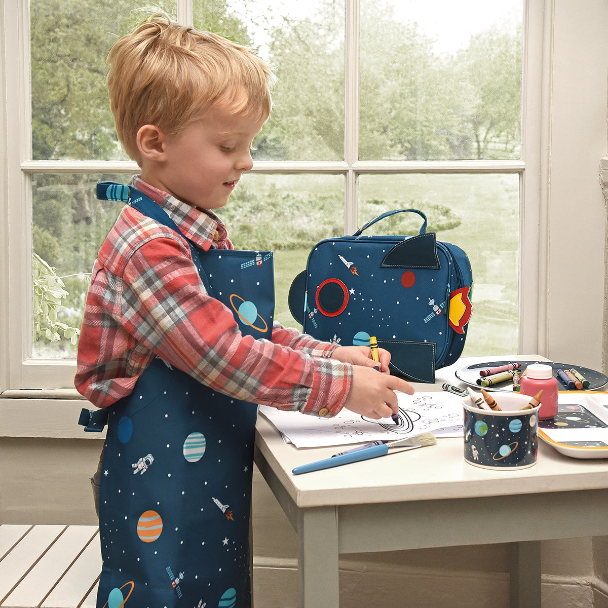 Kids activities while working from home by Sophie Allport