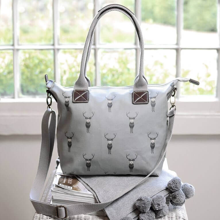 Highland Stag Mini Oundle Bag by Sophie Allport